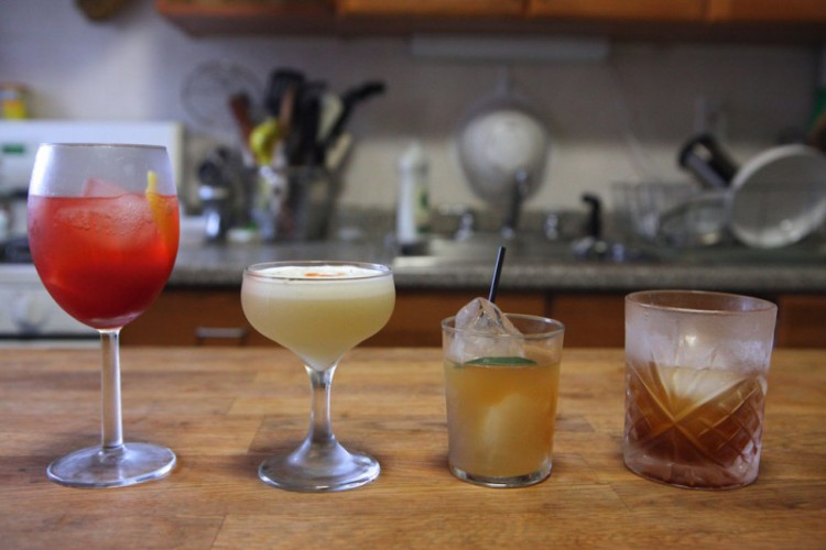 cocktail lineup