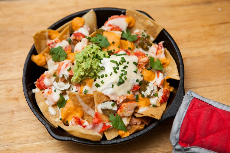 Lobster Nachos